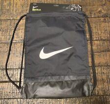 Nike Brasilia Gymsack Drawstring Bag Backpack Gym Sack Black Ba5338 010