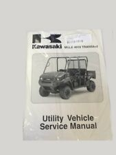 Kawasaki Service Manual Mule 4000 4010 Trans4X4 utility KA99924-1407-12