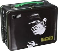 Frankenstein Monster Lunch Box Tin Tote w/Mad Doctor Universal Horror NEW