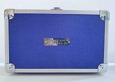 Vaultz Pencil Locking Box w/ Key- BLUE