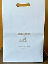 Authentic HERMES Paris Deer Leather Men Gloves fully cashmere lining Brand New