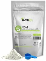 2X 250g (500g) 100% PURE MSM POWDER -JOINT PAIN & ARTHRITIS RELIEF USP
