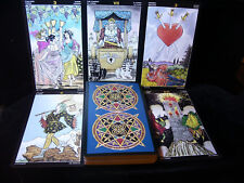 "BRAND NEW! UNIVERSAL TAROT CARD & BOOK ORACLE PROFESSIONAL 5"" x 8"" OPEN FOR PICS"