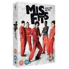Misfits E4 Series 1-2 Complete Seasons 1, 2 Including 4 Disc Box Set New UK DVD