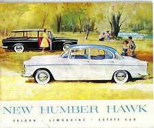 Humber Hawk SERIE II ORIGINALE di vendita OPUSCOLO N. 746/h 1960 berlina limo e auto