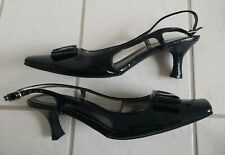 0600501bcc87 Patent Leather Med (1 3 4 to 2 3 4 in) Heel Height Women s Sandals ...