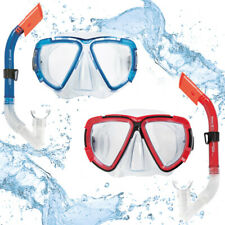 Schnorchelset Taucherbrille mit Schnorchel Tauchmaske Tauchen Erwachsene Brille