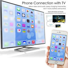 Cable Adapter FHD HDTV 3 In 1 For iPhone / Micro USB And Type C For UK Seller
