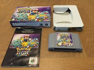 Pokemon Puzzle League N64 Boxed Complete