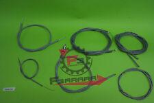 F3-301334 Kit Cavi trasmissione completo  Vespa PX 125 150 200 prima serie
