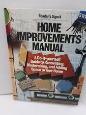 Readers' Digest Home Improvement and Repair Manual