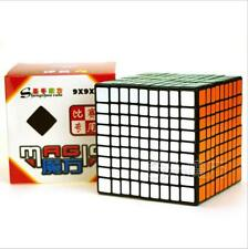 ShengShou 7093A 9x9x9 Magic Cube Speed Cube Puzzle Cube for Competition Black
