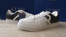 Armani Jeans men's white/black sneakers size 9UK (43EU)