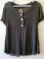 Marks and Spencer Cotton Blend Short Sleeve Jumpers & Cardigans for Women