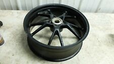 12 Triumph Speed Triple 1050 rear back wheel rim straight