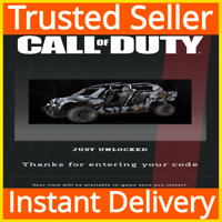 Call of Duty COD: Modern Warfare / Warzone / Mako Tac Rover Vehicle Skin DLC