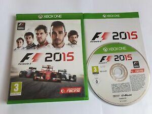 Formula 1 F1 2015 Microsoft Xbox One Game FREE UK POSTAGE
