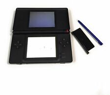 Nintendo DS Lite Broken Hinge AS IS Broken for parts Includes GBA Slot Cover