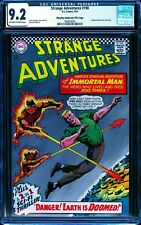 Strange Adventures 198 CGC 9.2 -- 1967 -- Immortal Man. MA Pedigree #1969938001