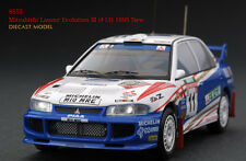 1:43 HPI DIECAST #8555 Mitsubishi Lancer Evolution III (#11) 1995 New Zealand