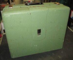 Vintage ELNA Supermatic Portable Sewing Machine.