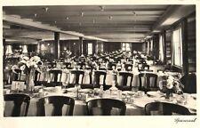 15732/ Foto AK, Dampfer M.S. Monte Pascoal, Speisesaal, 1934