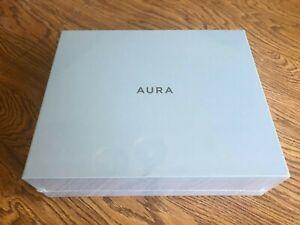 Aura Carver Smart Digital Picture Frame 10.1 Inch - White Chalk - WiFi - *NEW*