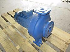 Lowara / Itt 1 X 2 Iron Pump W/3 Kw Motor, Fhe 32-200/30/P, #420855J New