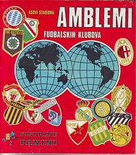 COMPLETE ALBUM WITH ALL STICKERS FOOTBALL CLUBS - PANINI 1975 - ALMOST PERFECT