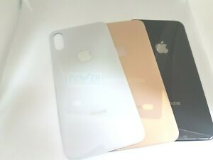 For Apple iPhone XS  Battery Back Glass Cover Replacement Big Hole