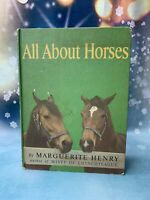 All About Horses Marguerite Henry (1962, Hardcover, 1st Edition) Westley Dennis
