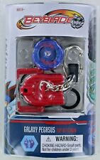 Beyblade GALAXY PEGASUS Top Keychain Keyring Launcher Ripcord NEW S5 Mini 1942