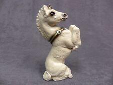 Windstone Editions * 'Old' White Unicorn Colt * Fantasy Mythical Statue Figurine