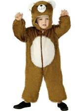 Bear Costume, Small,  Small Age 4-6, Children's Animal Fancy Dress/Cosplay #US