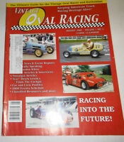 Vintage Oval Racing Magazine Racing Into The Future August 2000 080914R