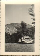 PHOTO CITROEN TRACTION AVANT COL D' ASPIN 1949