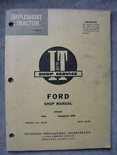 Ford 6000 Commander 6000  I&T tractor shop Service manual FO-22