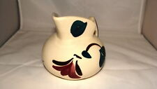 PURINTON IVY RED BLOSSOM PITCHER FOR CREAM OR SYRUP