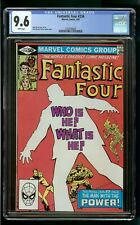 FANTASTIC FOUR #234 (1981) CGC 9.6 1st PRINT WHITE PAGES