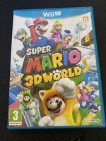 Super Mario 3d World Complete Nintendo Wii U