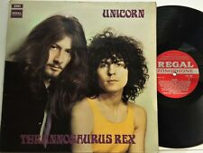 Tyrannosaurus Rex - Unicorn LP 1969 2nd UK Press Regal Mono Red Label G/fold EX