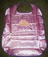 """Princess w/Crown B"" Pink Child's Silk Cape NWOT embroidered-ADD A NAME FREE!"