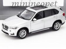 PARAGON 97072 BMW X5 5.0i xDrive F15 SUV 1/18 DIECAST MODEL CAR GLACIER SILVER