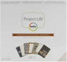 Cinnamon Edition, Project Life Core Kit