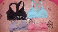 Victoria's Secret Victoria Sport Strappy Sports Bras Lot of 4  Size Small