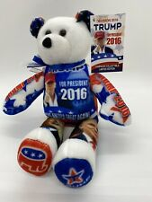 President Donald Trump Limited Edition Teddy Bear New Limited Treasures
