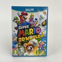 Super Mario 3D World (Nintendo Wii U, 2013) Pegi 3 PAL - 4 Players 3 Dimensional