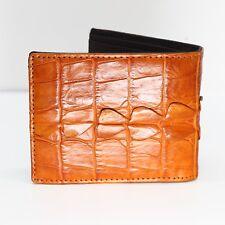 GENUINE CROCODILE Leather Skin MEN'S BIFOLD WALLET #NW2804