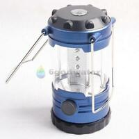12 LED Light w/ Compass Hiking Bivouac Camping Lantern Tent Outdoor Fishing Lamp