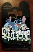 IMAGINEERING PIN DISNEYLAND HOTEL PARK SIGN STITCH 55TH ANNIVERSARY LE 300